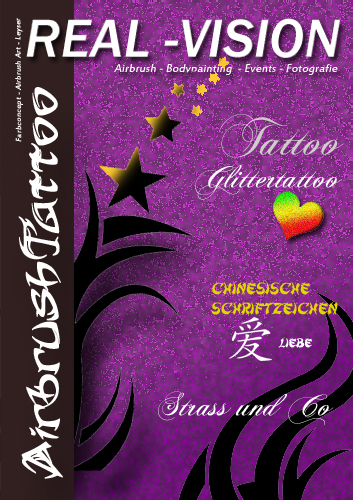 Airbrush-Tattoo